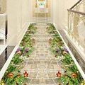 Длинный ковер для коридора  декоративный цветочный ковер для лестницы  домашний вход/Коврик для прихожей  отель  ковер для гостиной и спальн...
