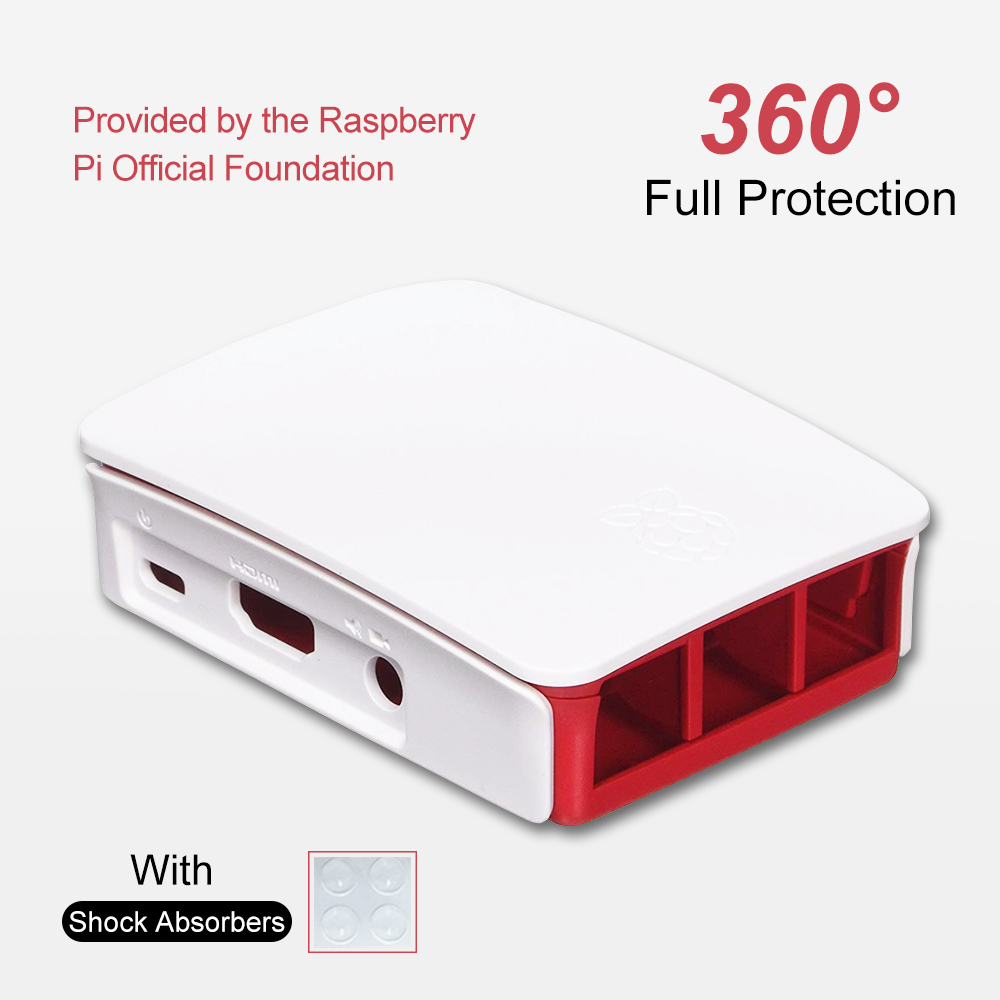 Raspberry Pi Foundation Case For Model B+ & Raspberry Pi 2 Model B Case For Raspberry Pi 3 Model B/B+-in Demo Board from Computer & Office