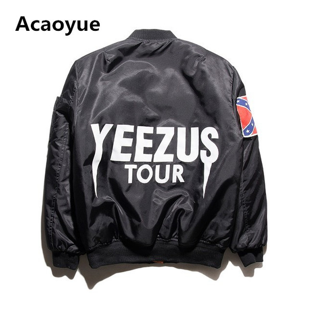 New fashion Jacket Hip Hop Men Brand YEEZYS Jacket Camouflage Air Force Flight Bomber Jacket Men  Kanye West Jacket  yeezy