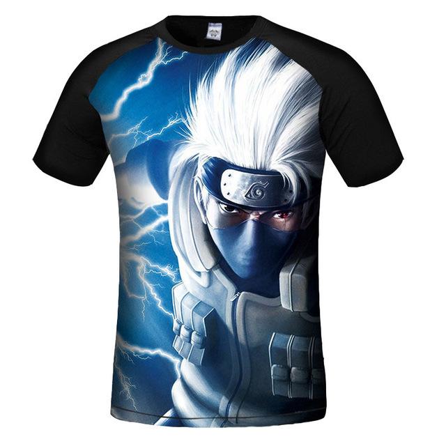 Naruto 3d Printed High Quality O Neck T-Shirts