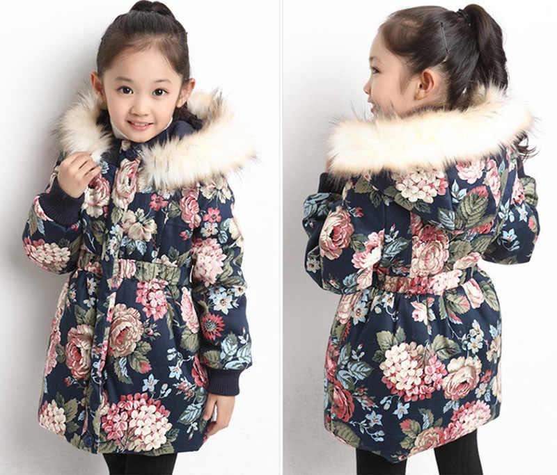 หญิงเสื้อแจ็คเก็ตฤดูหนาวสำหรับสาวเสื้อเด็กเสื้อผ้าเด็กหญิงเสื้อแขนยาวเด็ก Outerwear 4 5 6 7 8 9 10 11 12 ปี