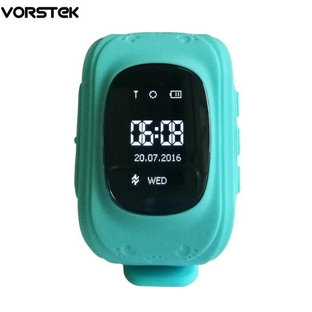 Smart Kid Safe Gps-часы Наручные Q50 SOS Вызова Расположение Finder Локатор Трекер для Малыша Ребенок Борьбе Потерянный Монитор Младенца