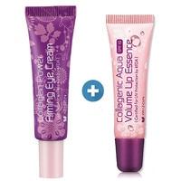 Korea Beauty MIZON Collagen Firming EYE Cream 10ml Collagenic Aqua Volume Up Lip Essence 10ml Dark