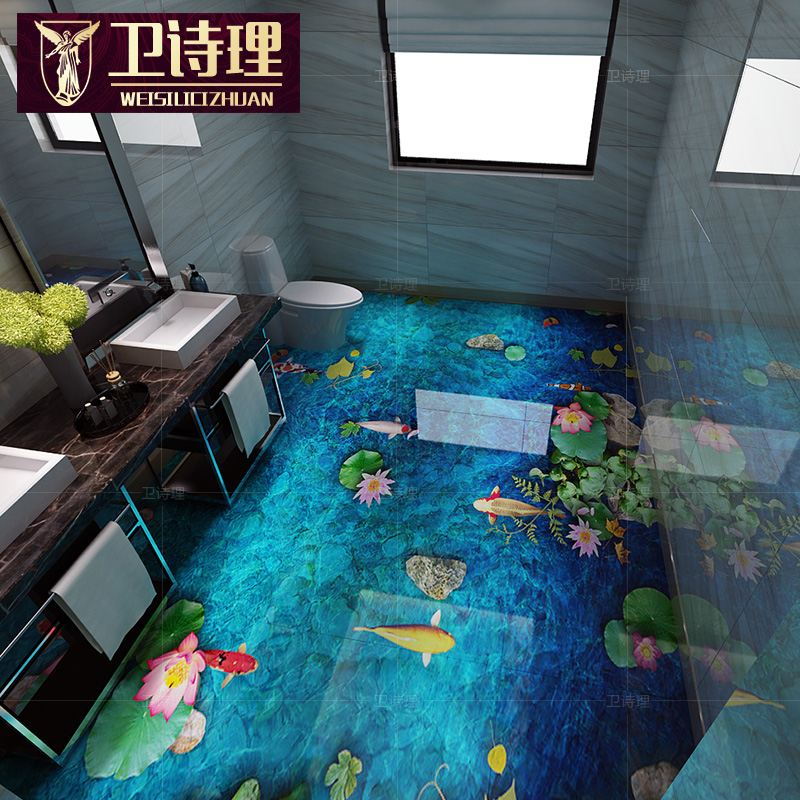 Best Quality 8d Polished Crystal 3d Ceramic Tile 3d Floor Tiles
