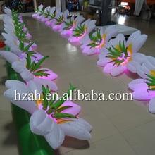 Продвижение Горячая Распродажа, надувной светящийся цветок для Свадебная вечеринка украшения