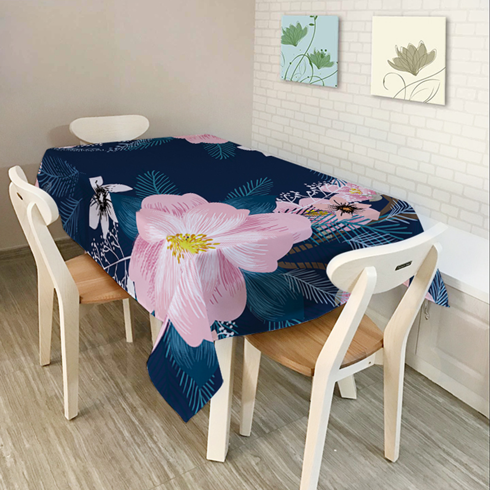 Rectangular Dinner Tablecloth Polyester Printed Coffee Table Cover Table  Cloths Home Decoartion Table Runner Cloth Cover