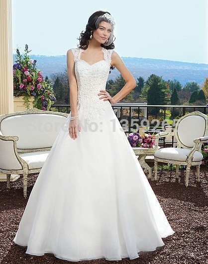 2014 ArrivalFree Shipping 2014 Wedding Dresses in Los Angeles Lace ...