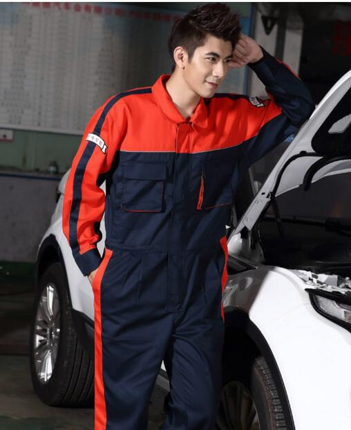 Automotive Beauty Maintenance Mechanic Overalls Suit Set Auto Repair Service Workwear for Autumn and Spring fraser moped maintenance and repair paper only page 2