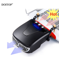 DOITOP Ventilated Radiator Fan For Desktop Computer CPU Cooler Fan Direct Contact Heatpipes Strong Heat Dissipation