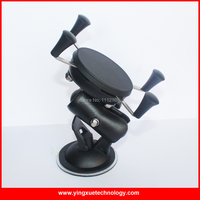 Parabrisas Car Mount Teléfono Grip Holder Ventosa Sostenedor Del Montaje Del Kit con 6 CM Enchufe Doble Brazo para 4-6 pulgadas de Dispositivos Móviles