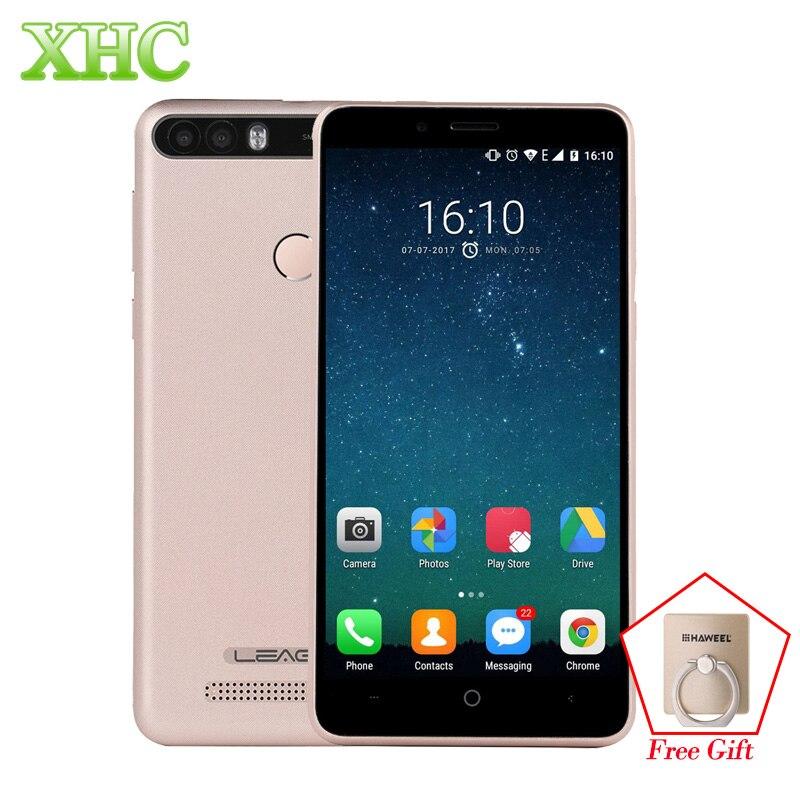 LEAGOO KIICAA POWER 5,0 ''Smartphone RAM 2 GB ROM 16 GB 8MP 5MP cámaras huella digital ID Android 7,0 Quad Core Dual SIM teléfono móvil