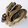 Waterproof Men's Outdoor Waist Pack Coin Purse for Iphone 6 Plus for SAMSUNG Note 2 3 4 1000D Nylon Military Waist Bag *35