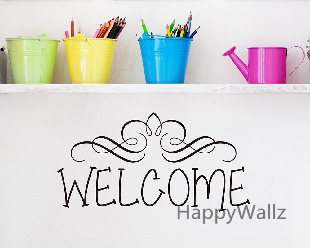 Welcome Home Family Quote Wall Sticker Family Welcome Quote Wall ...