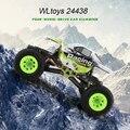 1:24 WLtoys 24438 Rock Crawler RC 2.4G 4WD Off Road RC Bigfoot Carro de Controle Remoto Brinquedo Do Veículo