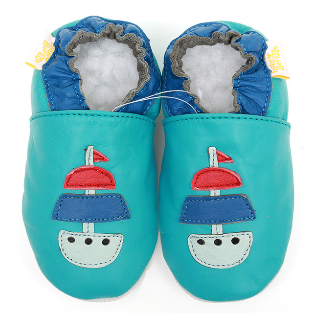 Genuine Leather Baby Shoes First Walker Baby Moccasins Cartoon Newborn Baby Shoes Girls Kids Toddler Shoes Boy Slipper Footwear