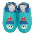 Mocassins de couro genuíno sapatos de bebê primeira Walker bebê dos desenhos animados bebê recém-nascido sapatos meninas criança sapatos chinelo calçados