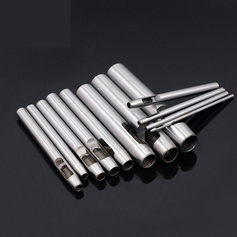 Δερμάτινα Εργαλεία Χάλυβα Στρογγυλή Τρύπα Εργαλείο Διάτρησης Εργαλείο Κούφιας Διάτρησης Εργαλεία Εργαλεία Δερμάτινα Εργαλεία Ράψιμο Αξεσουάρ 0,5-5,5MM