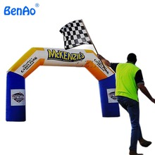 R065 Free shipping waterproof & fireproof start finish inflatable arch / archway /air gate,rainbow arch