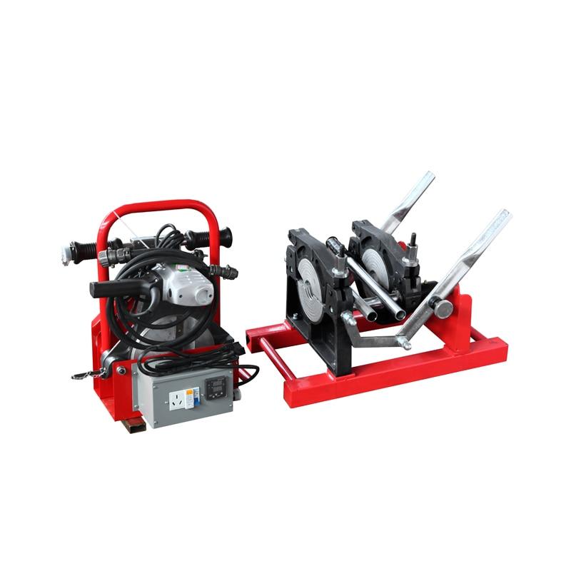 THK160/63M hdpe pipe manual butt fusion welding machine