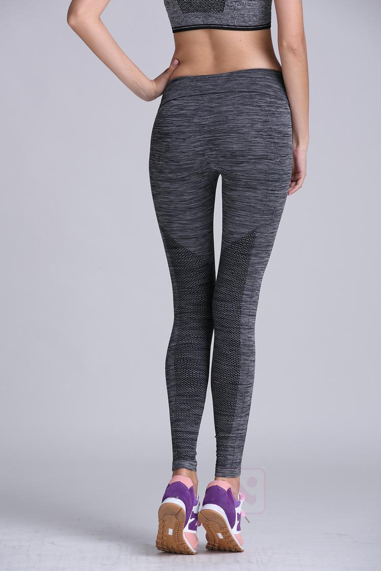 PRO Running Tights grey Sports Leggings women Yoga Pants Breathable Fitness  Skinny Pants Slim Women Gym Leggings Push Up Sexy on Aliexpress.com  5ab03abadfd4