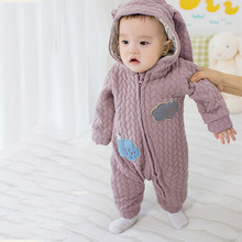 Baby Romper Long Sleeves 100% Cotton Baby Clothing Pajamas Cartoon Printed Newborn Baby Girls Boys Clothes for Newborns Rabbit