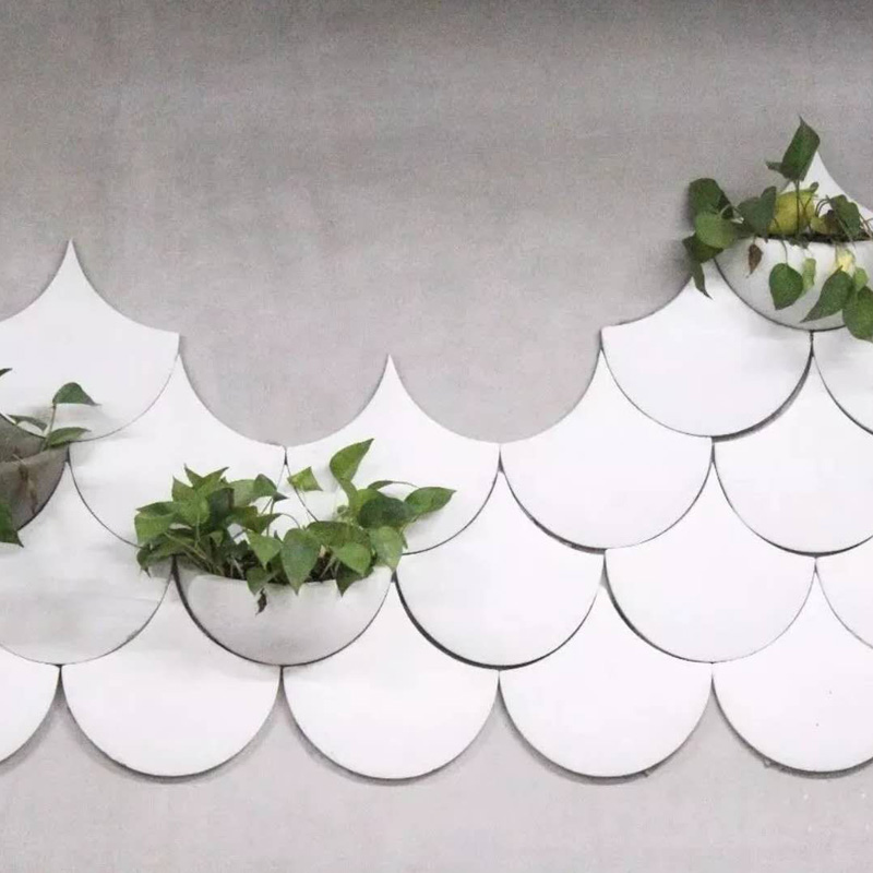 Cement Wall Brick Silicone Mold Wall Hanging Pot Decoration Composite Concrete Plaster Mold
