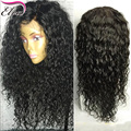 8A Brazilian Full Lace Human Hair Wigs With Bleached Knots Lace Front Human Hair Wigs For Black Women Water Wave Human Hair Wigs