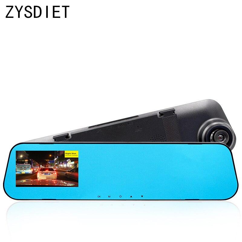 2018 New 3.9Car DVR/Dash Camera Car Rear-view Mirror Full HD 1080p Night Vision Car Dvrs Video Recorder Registrator Camcorder