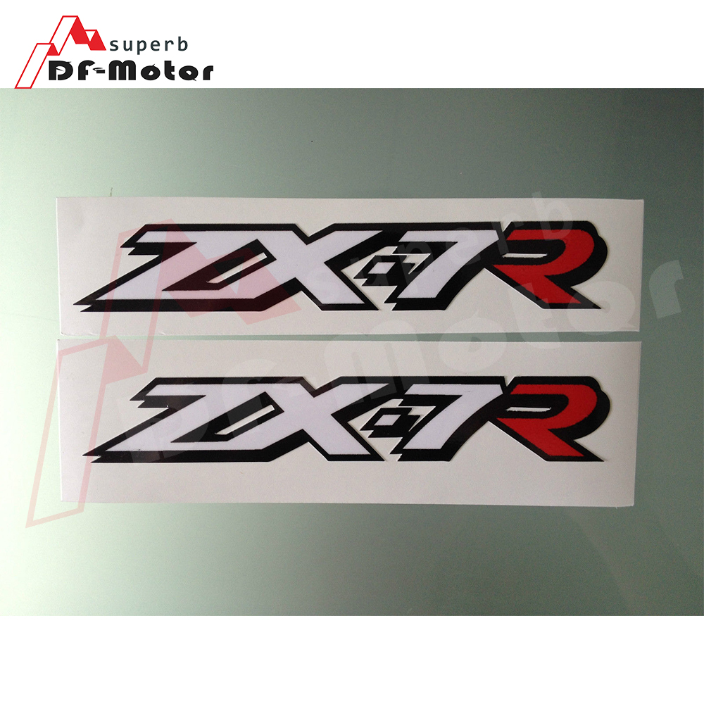 ZX-7R ZX7R Fairing Decals / Stickers 3M Sticker 1Pair Fairing Upper Fairing Motorcycle  Decals / Stickers