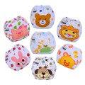 1 unid impresión pañales del bebé/niños pañales de tela/pañales reutilizables/niños pañales impermeable lavable/envío tamaño ajustable