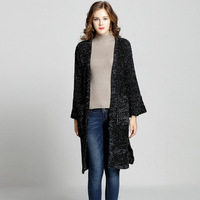 Long Cardigan Sweater Oversized Sweaters Plus Size Cardigans Coat 2018 Spring Womens Autumn Winter Fall Clothes