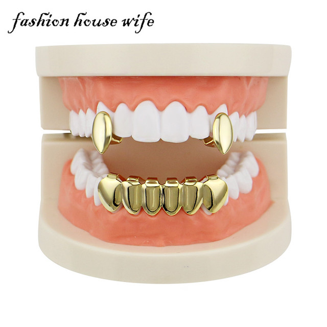 Punk Gold Teeth Grills...