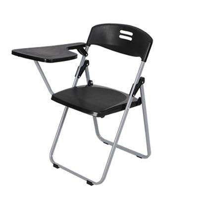 2 Pcs Folding Chair Train Chair Bring Writing Board Chairs Office Chair Plastic Student Teaching цена