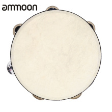 Tambourine Drum Toy-Instrument Musical Educational Kids Percussion Games Hand-Held Metal