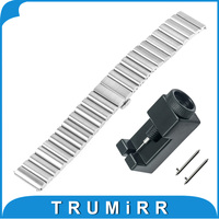 20mm 22mm Quick Release Watch Band Universal Stainless Steel Strap Bracelet With Upgraded Link Removal Tool