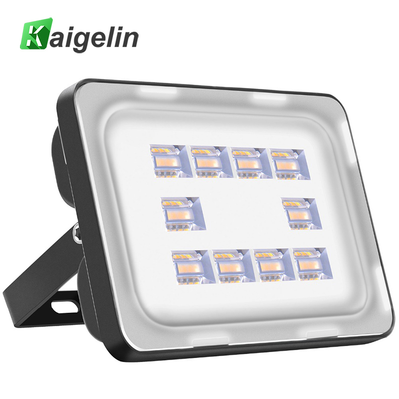 Kaigelin 30W LED Flood Light 220-240V 3600LM 40 LEDs Waterproof LED Floodlights Spotlight Outdoor LED Projector Street Wall Lamp wired 30w 2700lm 6000k white light led spotlight lamp silver black 90 240v