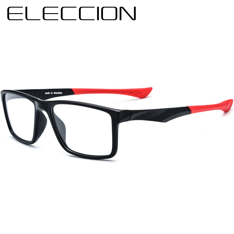 7712e1ff746 ELECCION Sports Style Myopia Eyeglasses Frame Men Optical Prescription  Spectacles Male Eyewear Bicycle Riding Glasses 17203