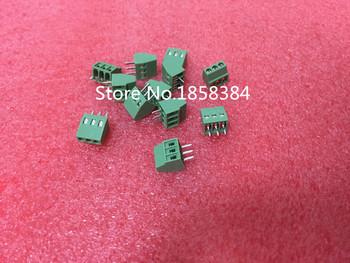 10 sztuk 3 polaków 3 Pin 2 54mm PCB uniwersalny zacisk śrubowy tanie i dobre opinie Zaciski śrubowe KF128-2 54-3P lot (10 pieces lot) 0 030kg (0 07lb ) 5cm x 5cm x 5cm (1 97in x 1 97in x 1 97in)