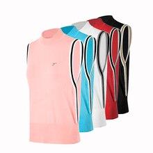 Golf Waistcoat women's Armless sweater  Windproof Golf Vest Clothes For Autumn Winter sleeveless golf shirt or vest tops