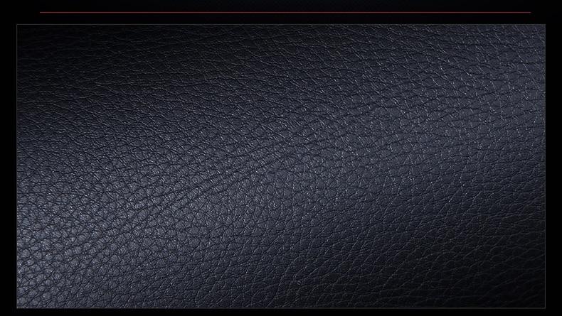 Zakschneider Housses DE SI/ÈGE pour Land Cruiser Couleur Premium Noir Blanc Traits Housse Avant Si/ège du Conducteur