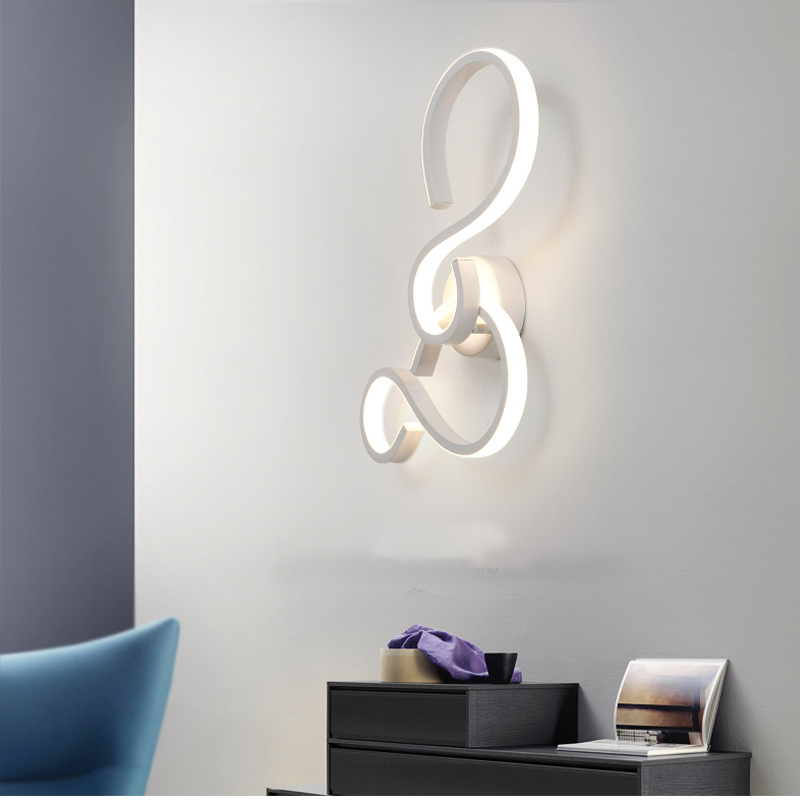 Modern Wall Lamp Minimalist Living Room led Wall Lighting Nordic Lamps Bathroom Mirror Light Personality Restaurant Wall Sconces hotel wall light aisle study room mirror light bedroom hotel wall sconces personality restaurant corridor wall lamps bathroom