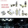 20 unids LED Canbus Luces Interiores Paquete Kit Para Audi A4 S4 B6 (2002-2004)