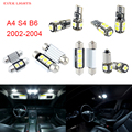 20pcs LED Canbus Interior Lights Kit Package For Audi A4 S4 B6 (2002-2004)