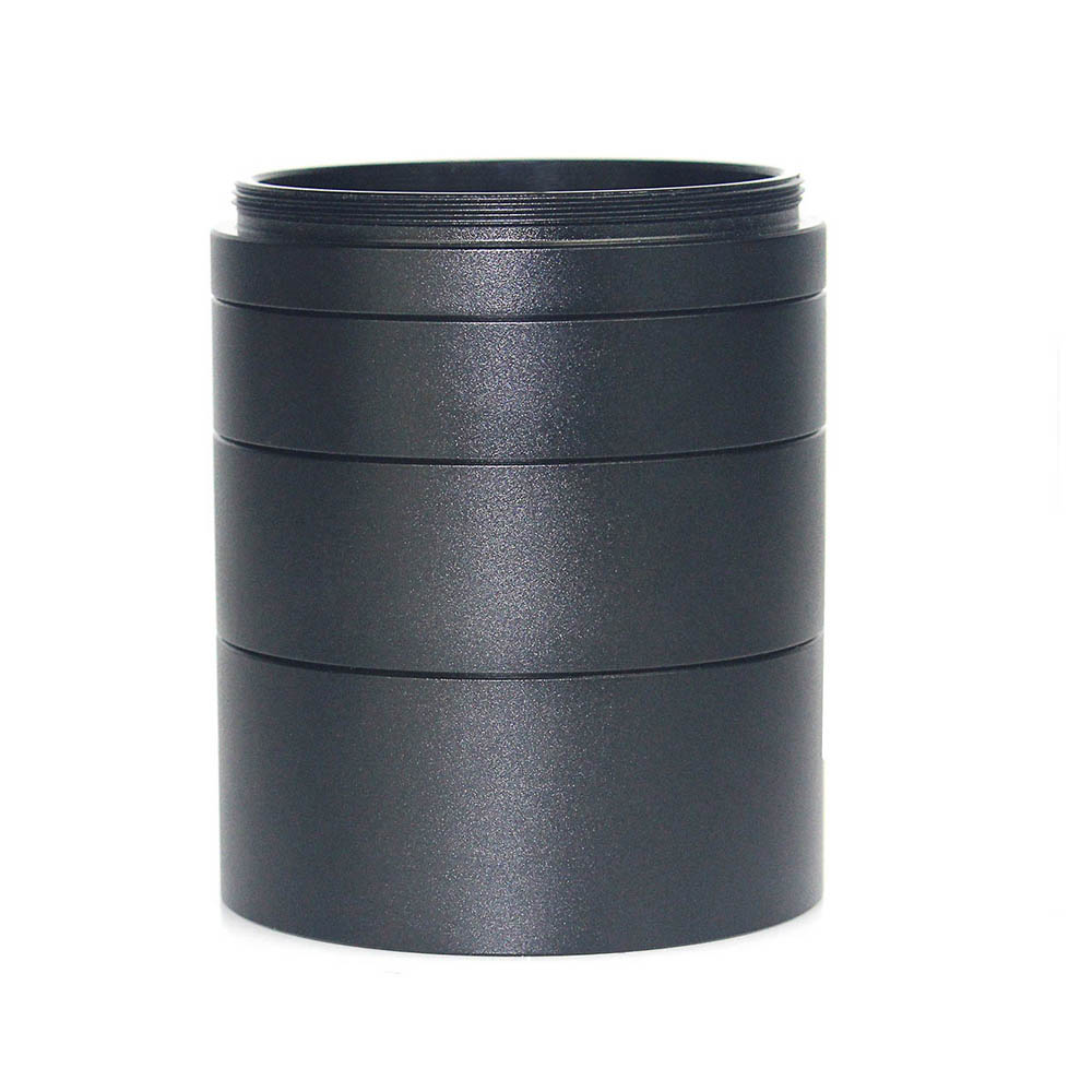 laida novo 2 m48 extension tubo kit para cameras e oculares comprimento 5 milimetros 10mm 15mm