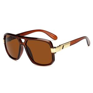 Lange Keeper Quadrat Sonnenbrille Männer Luxus Marke Design Paar Dame Berühmtheit Flache Heiße Frauen Sonnenbrille Super Star Cool Brillen