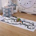Algarismos arábicos Brinquedos Educativos Mat para Crianças Do Bebê Do Algodão Cobertor Gamepad Crianças Decoração do Quarto Tapete Moda Tapete Bebês