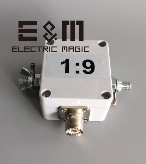 1:9 100W Balun Antenna ft817 DIY Kit SW Short wave Radio Receiver Telegraph AM QRP 7 10  ...