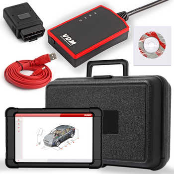 UCANDAS VDM V4.5 WIFI OBD2 Automotive Scanner Full system Auto Diagnostic Tool Multi-Language Car OBDII Scanner Free Update - DISCOUNT ITEM  27 OFF Automobiles & Motorcycles