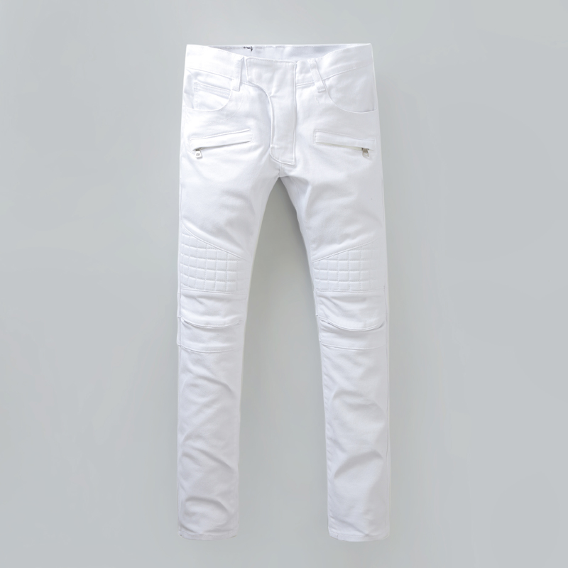 High Quality White Jeans Men-Buy Cheap White Jeans Men lots from