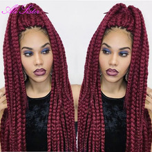 Crochet Hair Styles Prices : crochet braids box braids crochet twist hair burgundy braiding hair ...